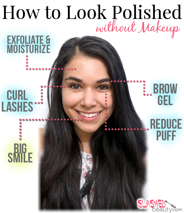 how to make your face look pretty without makeup