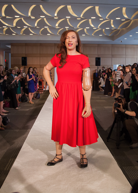 Carrie Hammer Showcases Role Models At Fashion Week