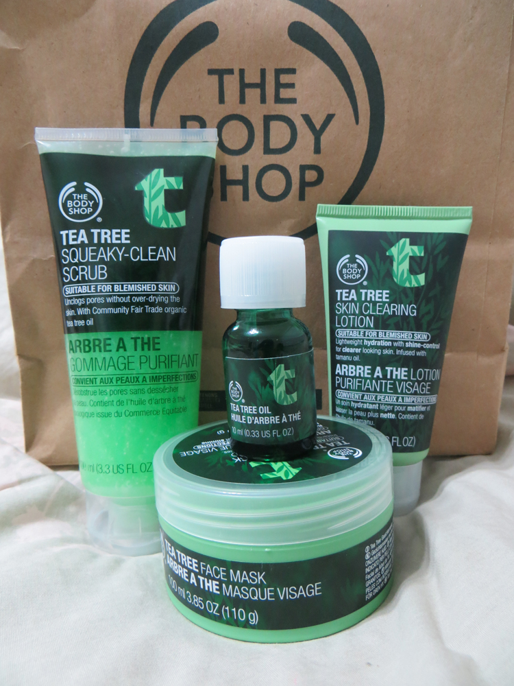 First Impression: The Body Shop Tea Tree Oil Collection