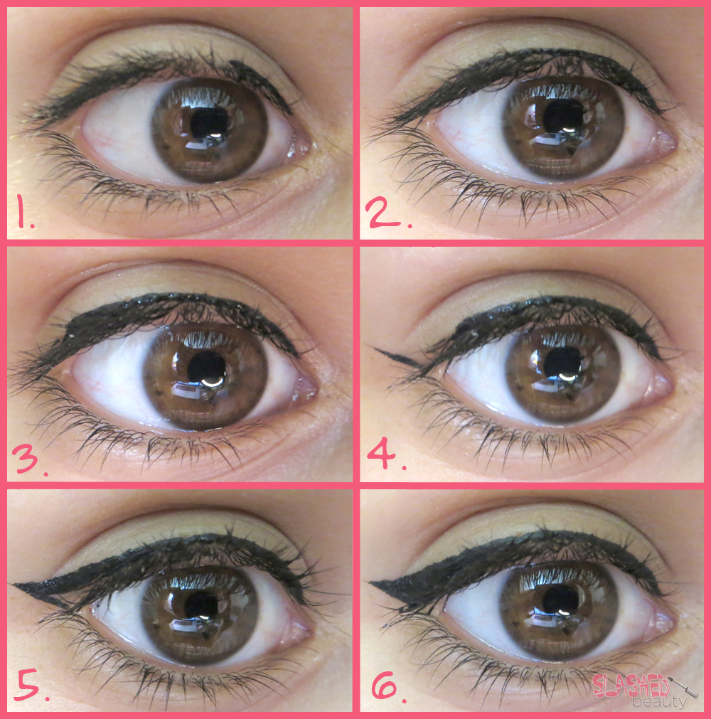 Slashed Beauty- Eyeliner Guide for Makeup Beginners ...