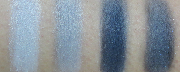 Wet n Wild Tunnel Vision palette swatches