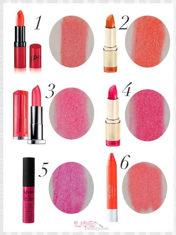 6 Essential Spring Drugstore Lipsticks