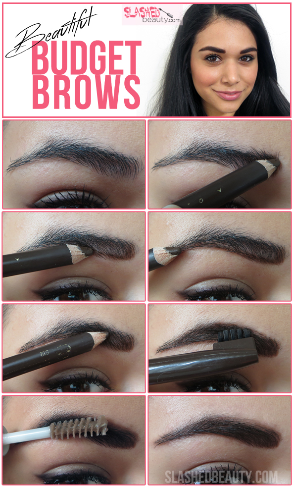 Beautiful Budget Brows: How to Fill In Your Eyebrows