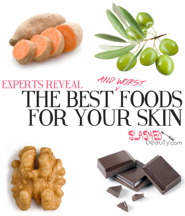 Experts Reveal Best and Worst Foods for your Skin