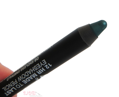 REVIEW: Jordana 12 HR Made to Last Eyeshadow Pencils - Endless Emerald