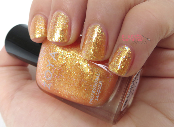 Zoya Summer 2014 Bubbly Collection - Alma Swatch