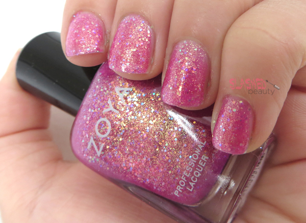 Zoya Summer 2014 Bubbly Collection - Binx Swatch
