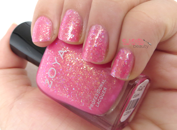 Zoya Summer 2014 Bubbly Collection - Harper Swatch