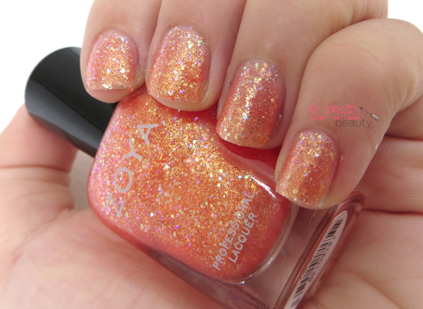 Zoya Summer 2014 Bubbly Collection - Jesy Swatch