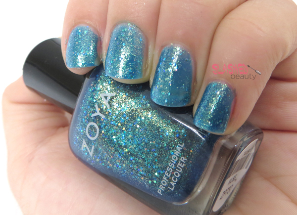 Zoya Summer 2014 Bubbly Collection - Muse Swatch