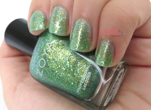 Zoya Summer 2014 Bubbly Collection - Staasi Swatch