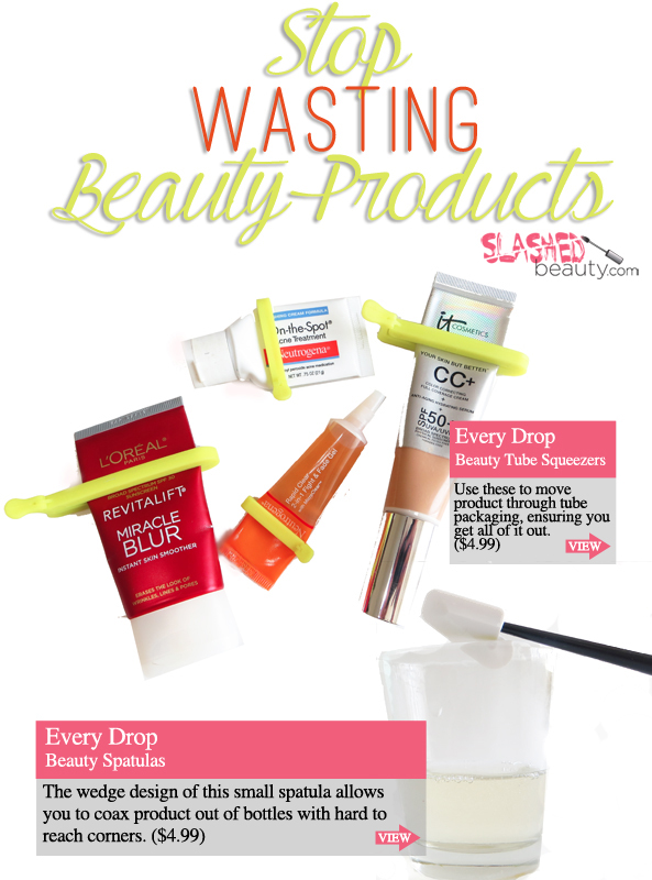 How to Stop Wasting Beauty Products