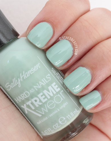 REVIEW & SWATCHES: Sally Hansen Electric Summer Collection, Kelp Yourself