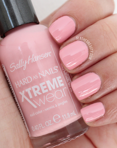 REVIEW & SWATCHES: Sally Hansen Electric Summer Collection, Peach Babe