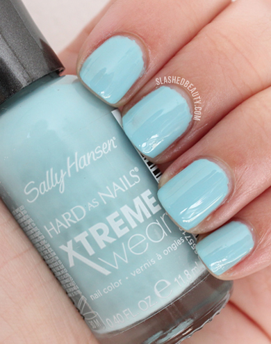 REVIEW & SWATCHES: Sally Hansen Electric Summer Collection, Wet Suit