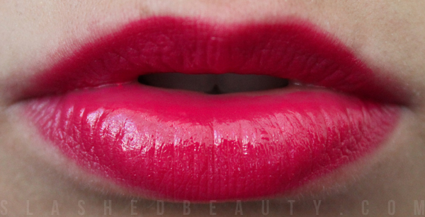 REVIEW: Rimmel Show Off Lip Lacquers - Apocaliptic Swatch