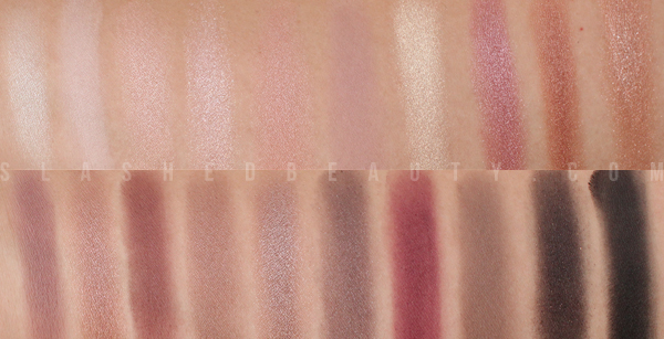 REVIEW: Coastal Scents Revealed 2 Palette Swatches