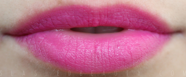 REVIEW & SWATCHES: Jordana Lipsticks - New Shades for 2014: Hip Rose