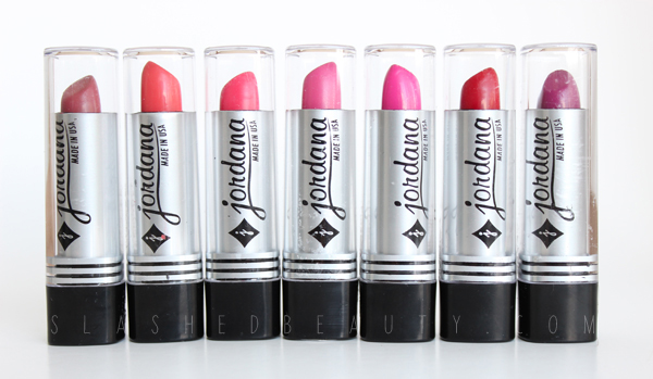REVIEW & SWATCHES: Jordana Lipsticks - New Shades for 2014
