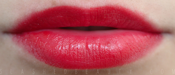 REVIEW & SWATCHES: Jordana Lipsticks - New Shades for 2014: Red Volt
