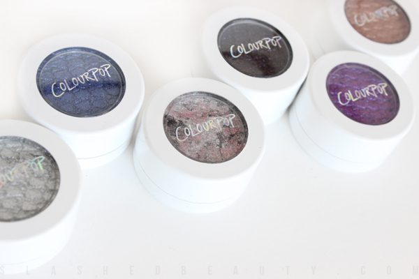 Review & Swatches: Colour Pop Super Shock Shadows