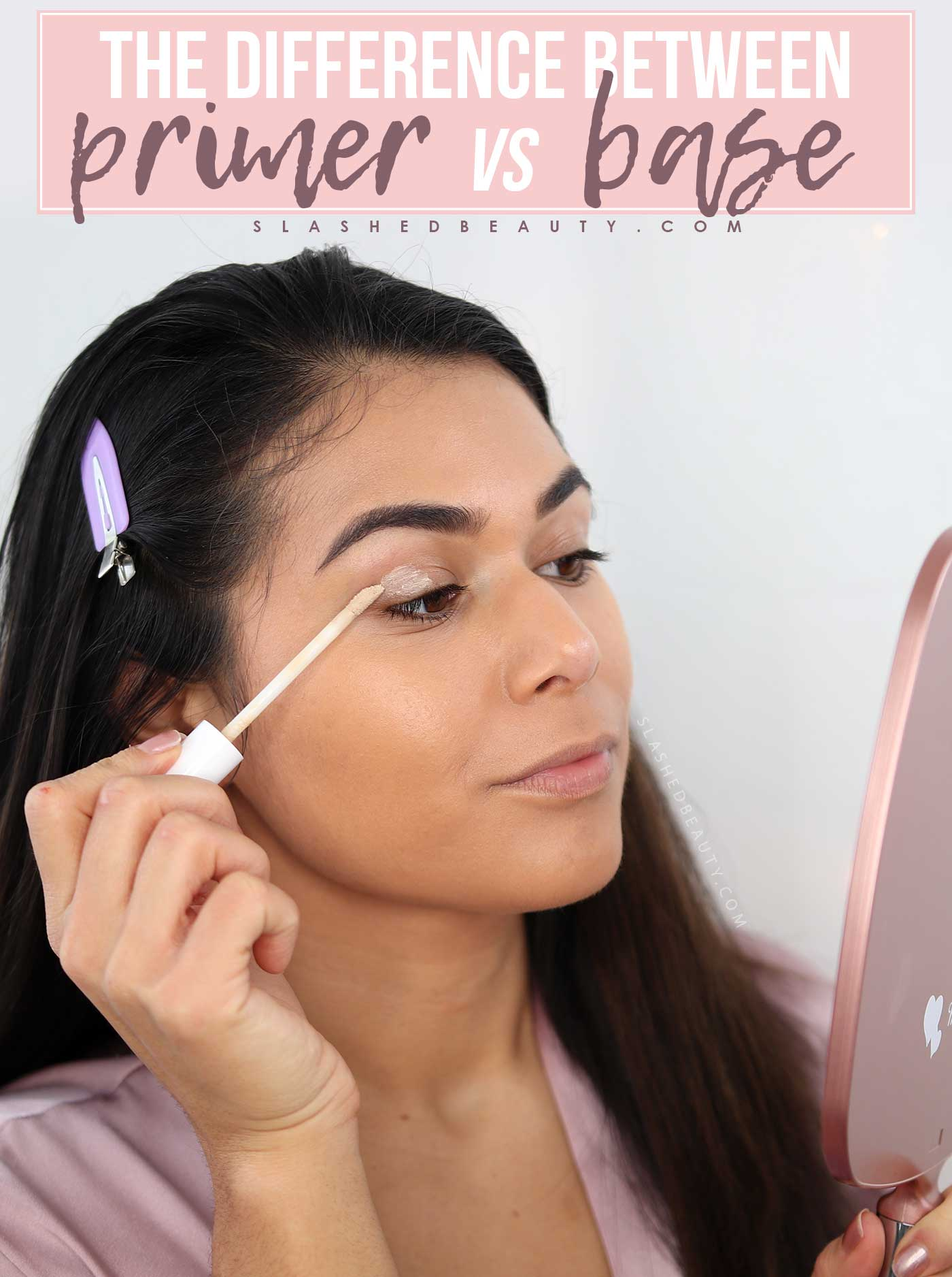 The Difference Between Eyeshadow Primer and Base | What is Eyeshadow Primer | Slashed Beauty