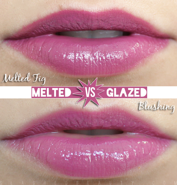 Review & Swatches: L.A. Girl Glazed Lip Paints vs. Too Faced Melted Lipsticks