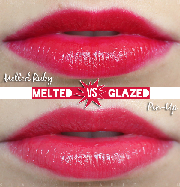 Review & Swatches: L.A. Girl Melted Lip Paints vs. Too Faced Melted Lipsticks