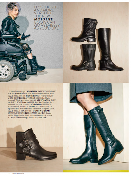 Nordstrom Includes Models with Disabilities in the Anniversary Catalog