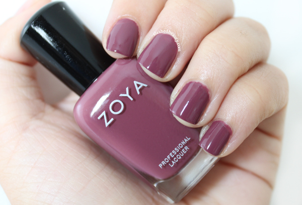 Review & Swatches: Zoya Naturel Deux Collection - Aubrey