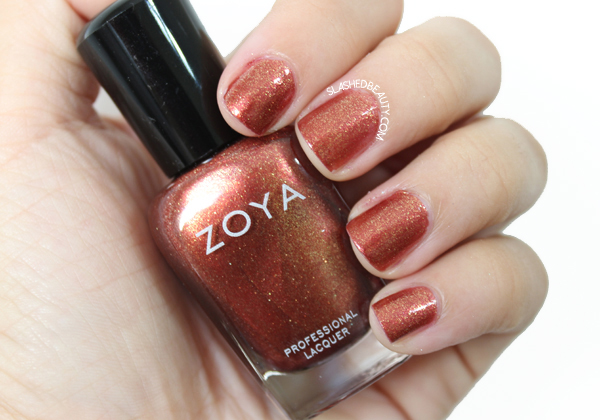 Review & Swatches: Zoya Ignite Collection- Autumn