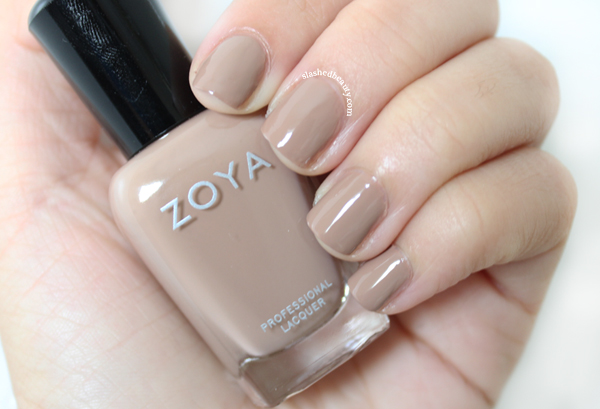Review & Swatches: Zoya Naturel Deux Collection - Spencer