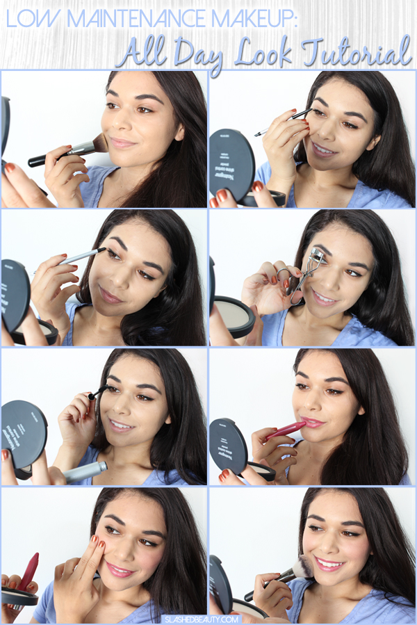 Low Maintenance Makeup: All Day Look Tutorial