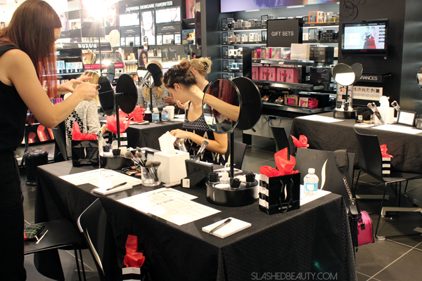 Behind the Scenes: Sephora Classes