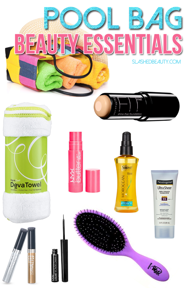 Pool Bag Beauty Essentials