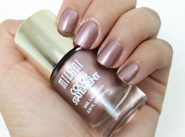 Review & Swatches: Milani Color Statement Nail Lacquers Fall Shades - Bronze