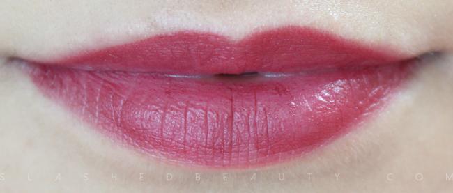 REVIEW & SWATCHES: e.l.f. Studio Matte Lip Colors in Cranberry