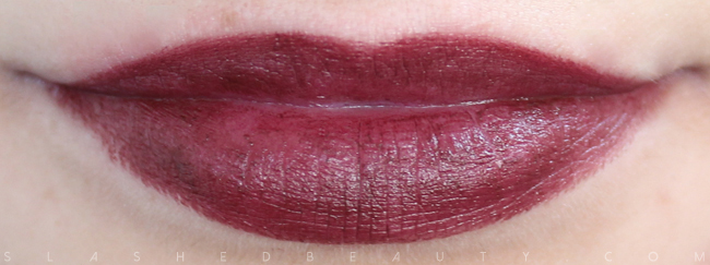Review & Swatches: NYX Simply Vamp Lip Creams- Aphrodisiac