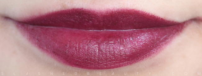 Review & Swatches: NYX Simply Vamp Lip Creams- Bewitching