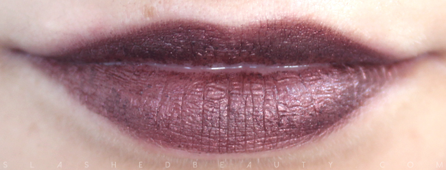 Review & Swatches: NYX Simply Vamp Lip Creams- Enamored