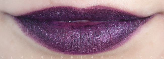 Review & Swatches: NYX Simply Vamp Lip Creams- Temptress