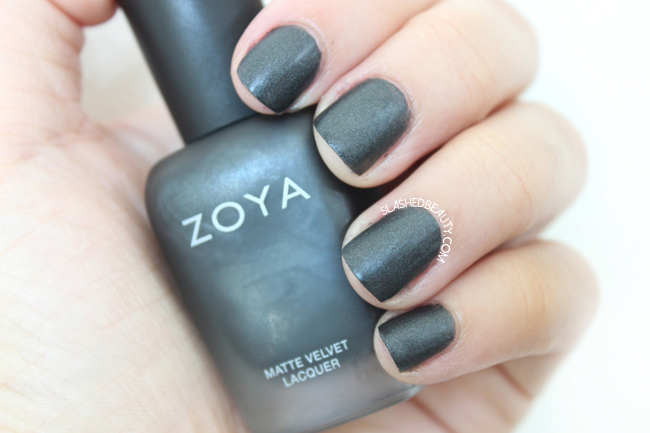 Review & Swatches: Zoya Matte Velvet Collection- Dovima