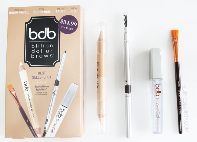 Review: Billion Dollar Brows Best Sellers Kit