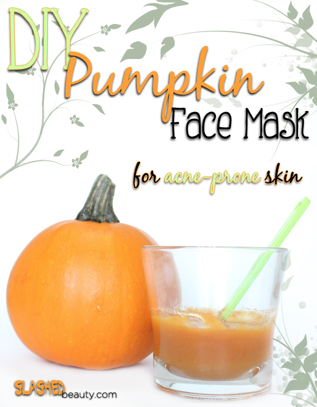 DIY Pumpkin Face Mask for Acne-Prone Skin