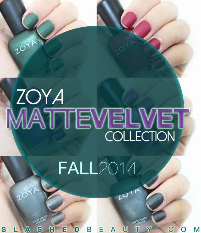 Review & Swatches: Zoya Matte Velvet Collection