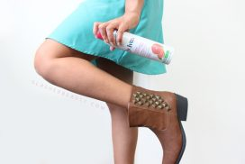 Show Off Smooth Legs with St. Ives Fresh Hydration Lotion