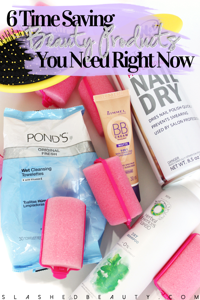6 Time Saving Beauty Products You Need Right Now