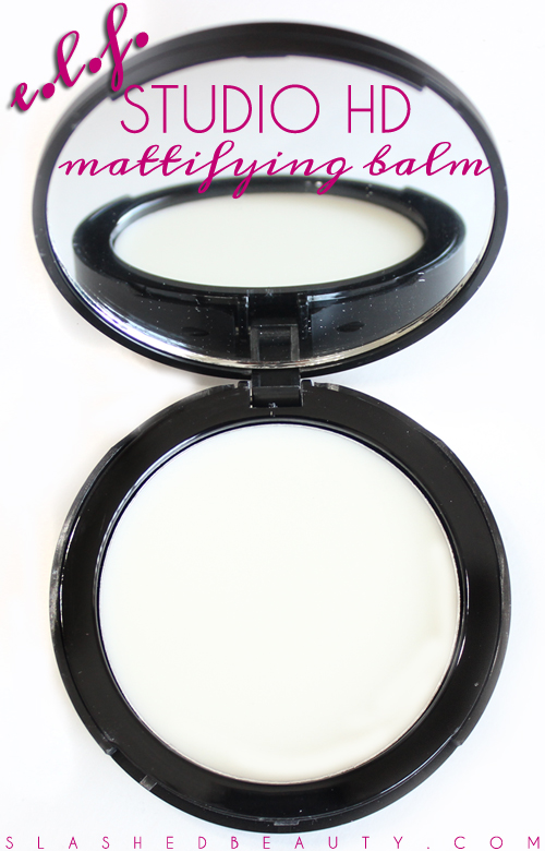Review: e.l.f. Studio HD Mattifying Balm | Slashed Beauty