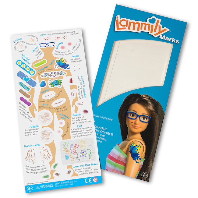 Lammily Has Arrived! The Average Looking Fashion Doll | Slashed Beauty