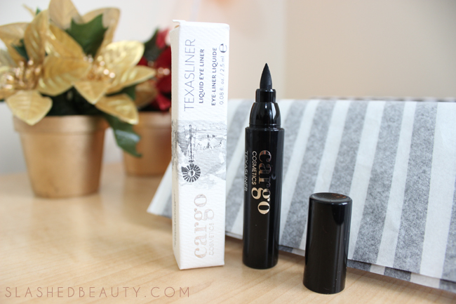 Review: 2014 Holiday Glossybox - Cargo TexasLiner | Slashed Beauty